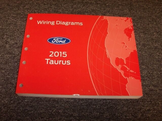 2015 Ford Taurus Sedan Electrical Wiring Diagram Manual Se