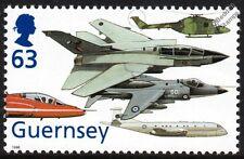 RAF Aircraft Stamp Tornado GR1/BAe Hawk/Sea Harrier/Lynx Helicopter/Nimrod