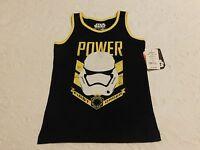 Boys Clothes Star Wars Shirt Black Size 4 5/6 7 Brand Retail $16