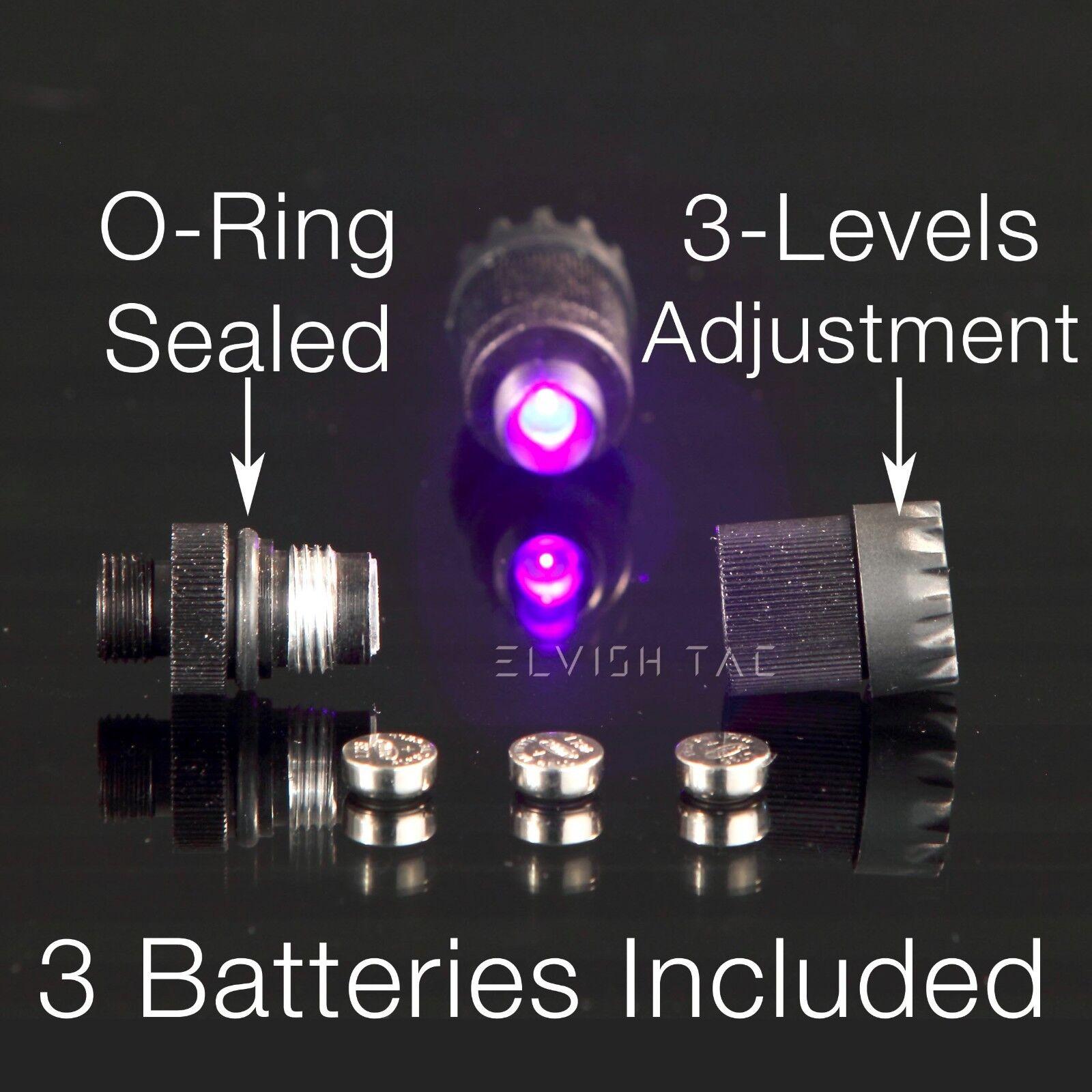 Compound Bow Sight Light Bowlight LED 3-Levels Rheostat 3//8-32 Thread 12 Battery