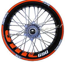 KTM SMC 690 - easy-wrapped Felgenaufkleber (Supermoto) wheel sticker decal
