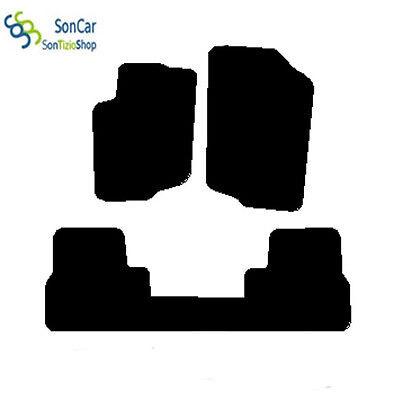 4block CITROEN DS3 TAPPETI AUTO tappetini posteriori uniti