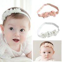 Newborn Toddler Kids Baby Girls Flower Headband Hair Band Accessories Headwear