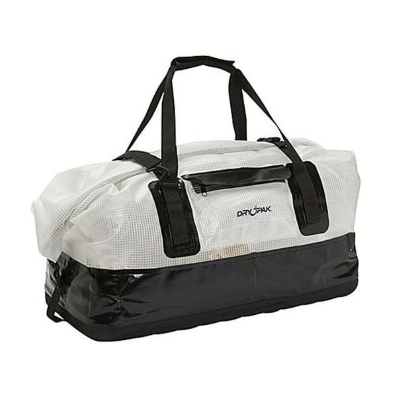 Kwik Tek DpD2Cl XLarge Clear Waterproof Duffle Bag