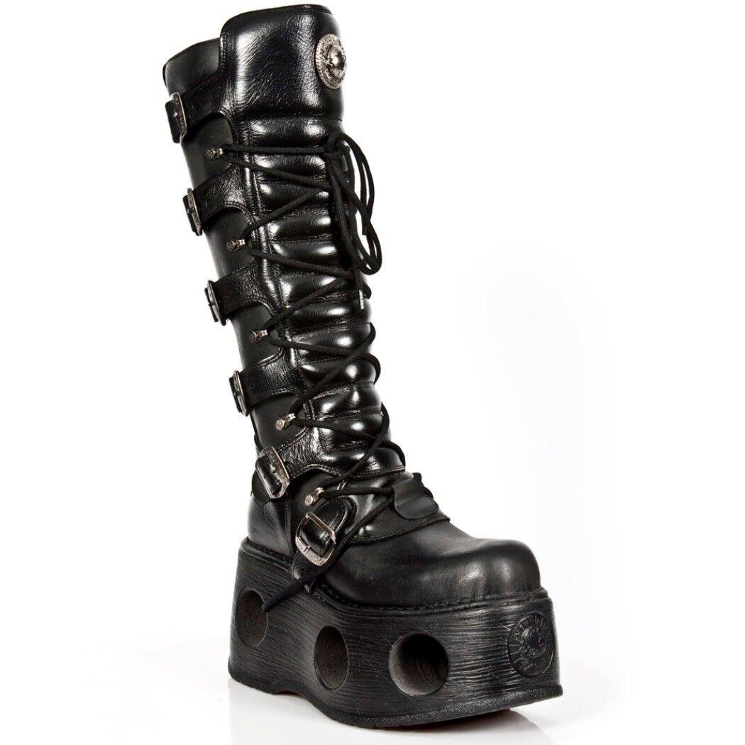 Newrock nr m.272 s2 negro botas-New Rock Spring botas-unisex