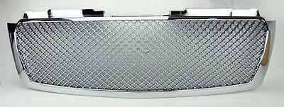 Chevy Trailblazer 06-09 Front Mesh Chrome Bumper Hood Sport Grill Honeycomb