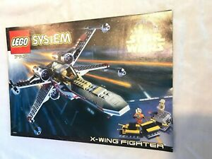 LEGO 7140 Star Wars X-Wing Fighter 1999 With Instructions, No Box | eBay