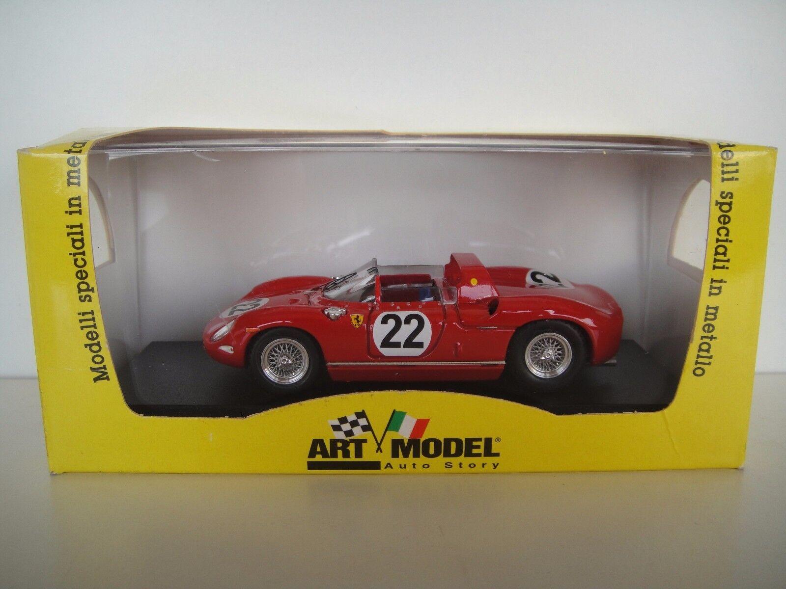 1 43 ART MODEL  FERRARI 250 P   22. 3º 3rd LE MANS 1963