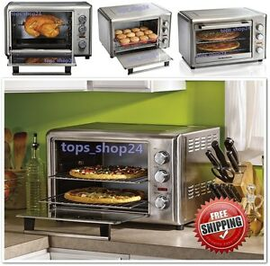 Commercial Countertop Convection Oven Reviews : Countertop Oven w/ Convection Electrics Commercial Kitchen Cooking ...