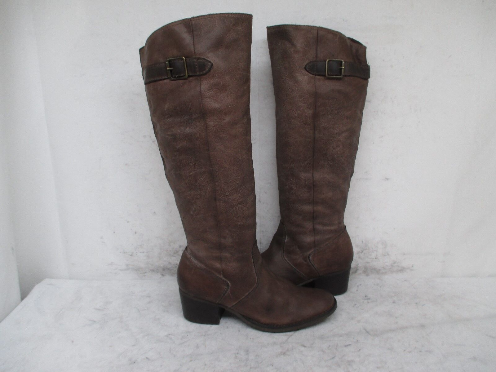 Matisse Tundra High Stone Brown Leather Knee High Tundra Boots Size 7 M 33c61d