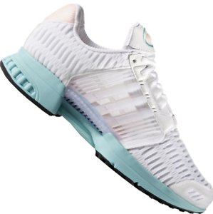 Details zu Adidas originals Climacool 1 W Weiss Türkis Frauen Schuhe  Laufschuhe Sneakers