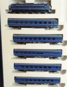 Voie N Tomix 92027 Train Rapide Set Locomotive Électrique Ef 66 5 Wagen Jnr