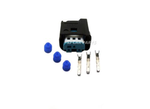 For Bmw 3 Pin Plug Connector PDC Parking Sensor E46 E39 X5 DJ7035A-0.6-21