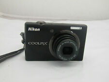 Nikon Coolpix S570 Black Digital Camera Only Tested Working