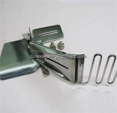 Sewing Machine Folder Binder Inlet 2-3//4 Outlet 1 Metal Double Needle Waistband Sewing Machine Machine Accessories Industrial Seaming Machine Binder Binding Attachment Folder