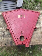 No 1 Antique Tractor Part Farm Advertising Cast Iron Motor Case
