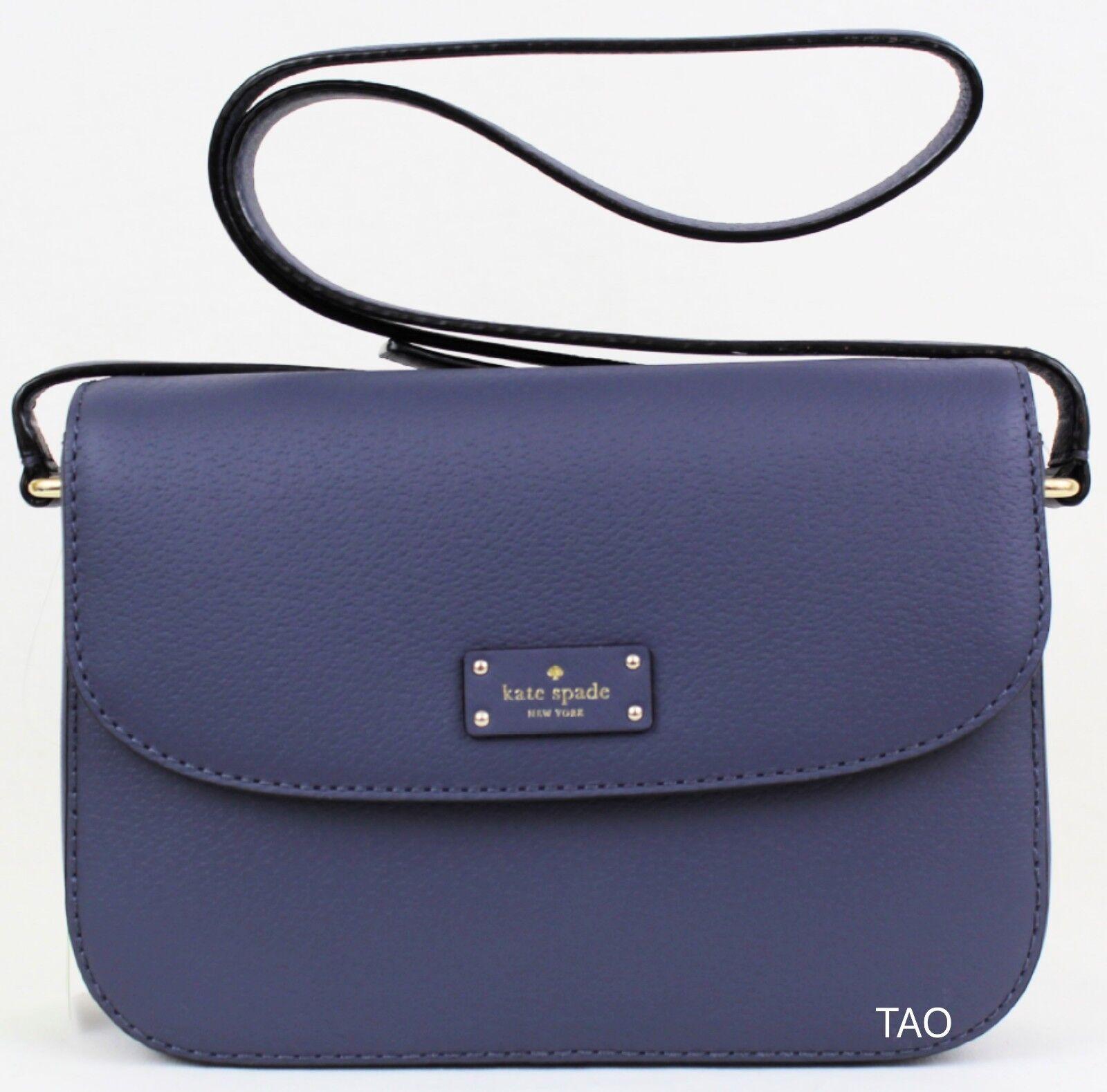 Kate Spade Alycia Grove Street Umhängetasche Schulter Handtasche Diver Blau Neu | Deutschland Shop