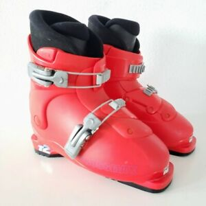 SALOMON-Performa-T2-Youth-Ski-Boots-Mondo-Red-SIZE-21-0-Child-33-2-3-UK-1-5-US-2