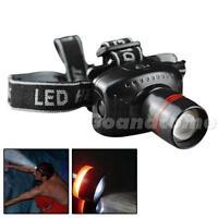 Hot Headlight LED Flashlight Focus Strap Adjustable For Camping Lamp LED001 BDRG