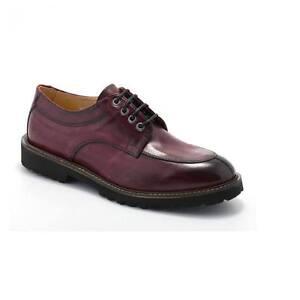 Elegante Exton 9054 Uomo Scarpa Oxford Rossa 8xOqXC5