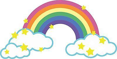 sticker decal car laptop macbook kitchen room horse flower rainbow colored