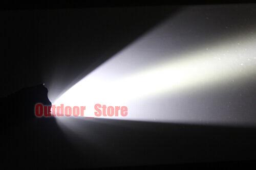 1pcs UltraFire 501D CREE XM-L T6 LED 1Mode 800Lumens Tactical Flashlight