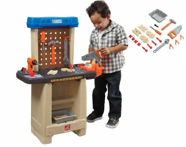 Groovy Toy Tool Bench Set Workshop Workbench Play Work Pretend Tools Toolbench Toddler Cjindustries Chair Design For Home Cjindustriesco
