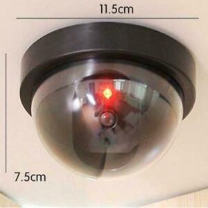 1 Fake Dummy Dome Surveillance Security Camera with Sensor Light NEW LED M8A7