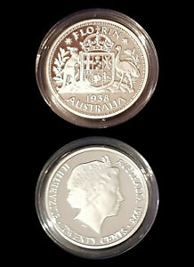 1938-99-9-Proof-Silver-FLORIN-from-1998-Masterpieces-Silver-Set-13-36g-20c