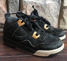 156f5438b3d3 item 2 Nike Air Jordan Retro 4 Royalty toddler size 10c black metallic gold  308500-032 -Nike Air Jordan Retro 4 Royalty toddler size 10c black metallic  gold ...