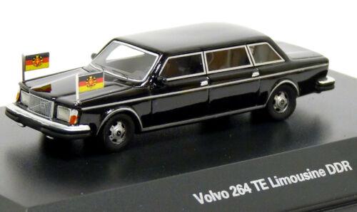 BoS 87670 Volvo 264 TE Stretch Limousine Staatskarosse DDR Honecker 1:87 H0