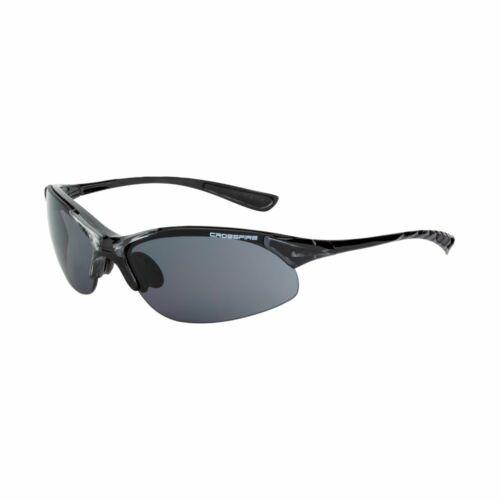 RADIANS 1528 Crossfire Safety Glasses Matte Black Frm Red Scratch-Resistant