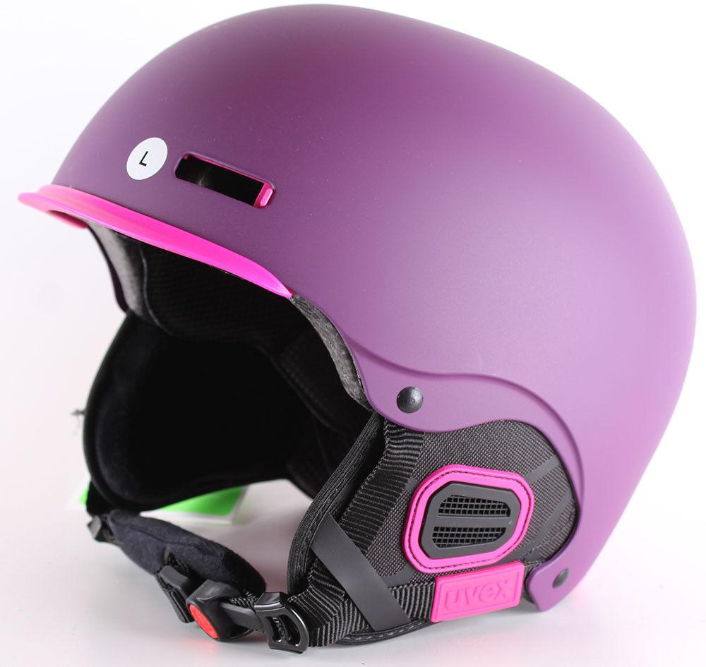 Uvex Ski Helmet 5 pro Purple Pink Purple Mat Size 59-62 cm L Snowboard