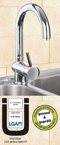 HOGA Atlanta MIAMI Niederdruck Waschtisch Spültischarmatur Küchenarmatur Chrom 2