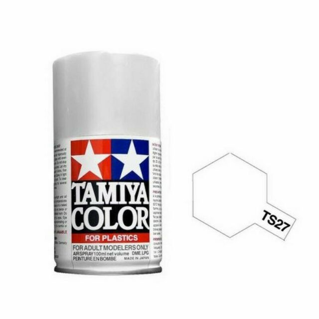 Blanc mat Spray de 100ml-TAMIYA TS27
