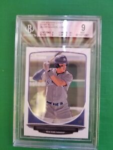 AARON-JUDGE-2013-BOWMAN-DRAFT-CARD-BDPP19-YANKEES-ROOKIE-GRADED-BGS-9-0-MINT