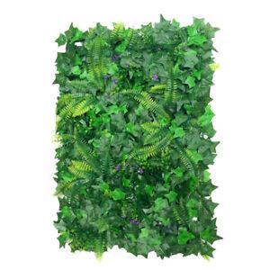Kunstpflanzen-Rasen-Wand-Pflanzen-Haengend-Hochzeitsdeko-40-X-60cm