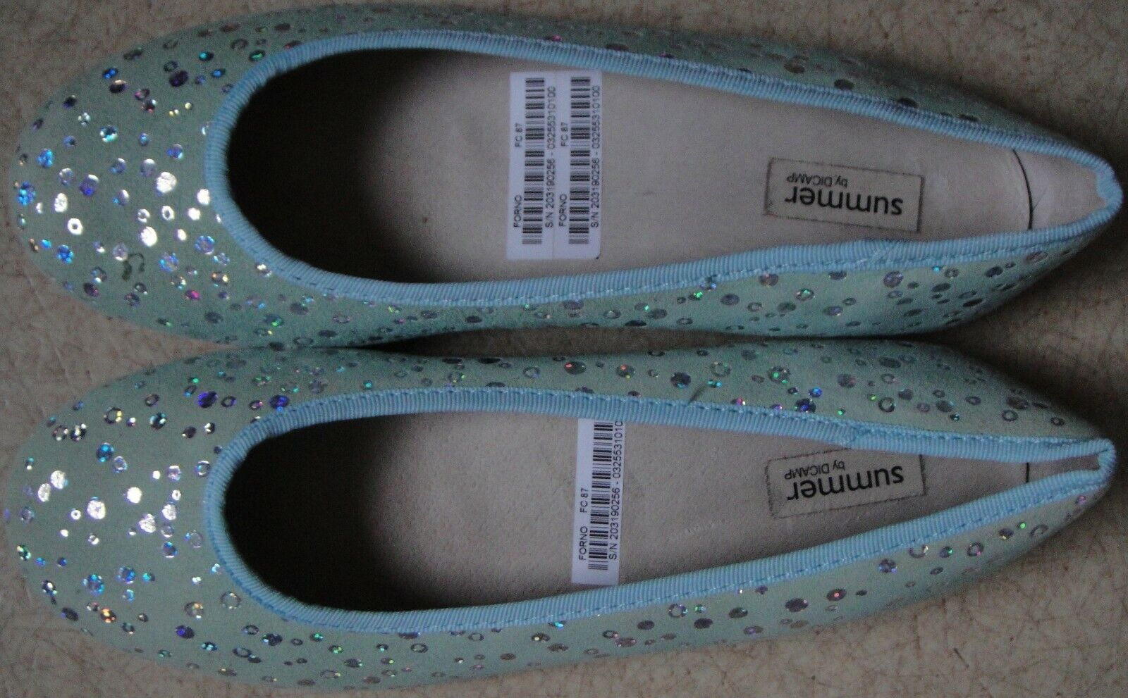 Blau Schuhe in Übergrößen Damen Trotteur Schnürpumps MUSTANG