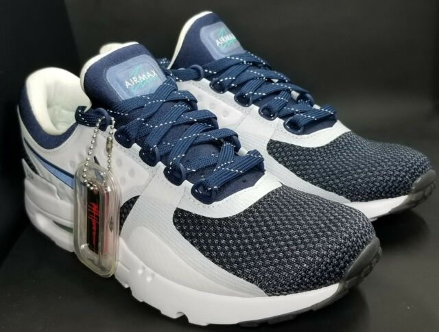 the latest f19b2 1ca0b Nike Air Max Zero OG QS White Midnight Navy 789695-104 Sz 6.5 Limited
