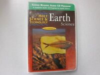 Holt Earth Science California Guided Reading Audio Cd Program 0030556775