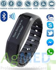 Braccialetto SMARTBAND | Bluetooth SmartWatch Orologio iPhone CHIAMATE no Fitbit