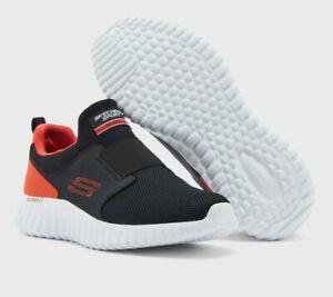 NUOVI-Pantaloncini-Uomo-Skechers-Relaxed-Fit-carica-di-profondita-2-0-Scarpe-da-ginnastica-Black
