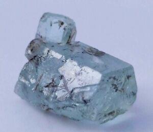 15ct Natural Unique Terminated Aquamarine Rare Crystal Shigar Pakistan US SELLER