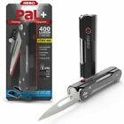 NEBO PaL+ 400 Lumen 3-in-1 Rechargeable Flashlight, Powerbank and Folding Knife - Black
