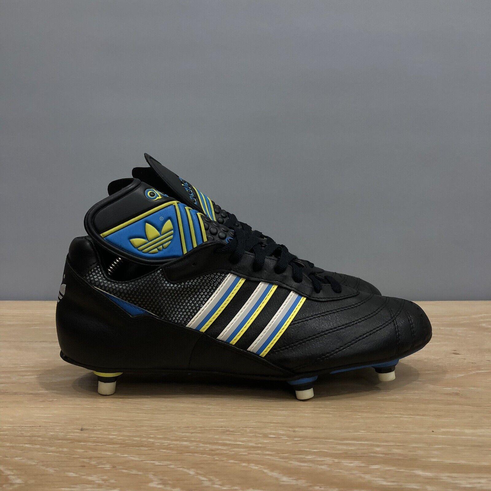 Rare Vintage Adidas Legend Football zapatos 90s Talla Us 10