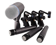 Shure DMK57-52 Drum Microphone Kit. U.S. Authorized Dealer
