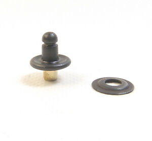 Lift The Dot Eyelet Type Stud, Black Oxide, 10 Piece Set - Shipped from The USA!