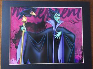 Details About Maleficent Sleeping Beauty 11x14 Mat Print Mistress Of All Evil Villain New