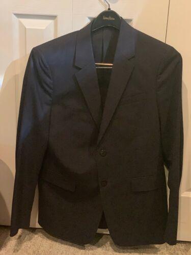 Theory Navy 38 R mens suit jacket (blazer, coat)