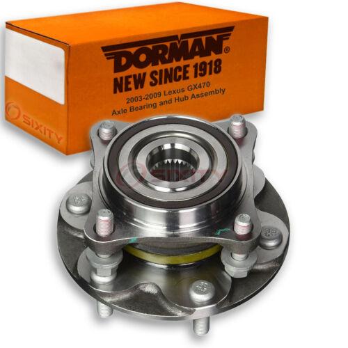 Wheel Tir wr Dorman Front Axle Bearing Hub Assembly for Lexus GX470 2003-2009